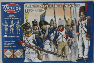 Victrix 28mm VX0005 French Infantry 1807-12